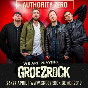 Authority Zero naar Groezrock 2019