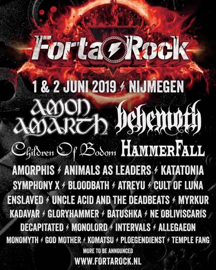 Children of Bodom en meer naar FortaRock 2019
