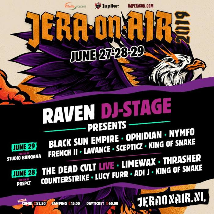 Jera On Air 2019 Raven DJ Stage
