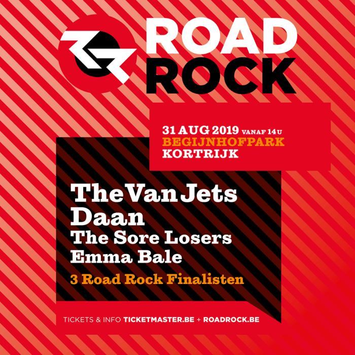 Affiche Road Rock 2019 compleet