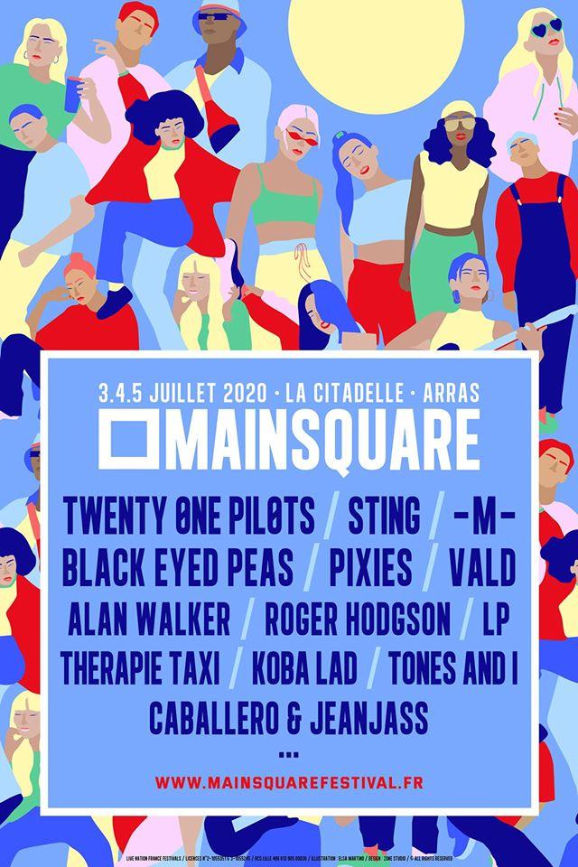 Main Square 2020 lost eerste namen met Sting, Twenty One Pilots en meer