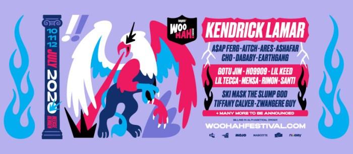 Woo Hah! 2020 pakt uit met Kendrick Lamar en meer