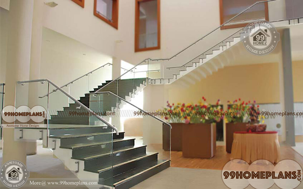 Quarter Turn Staircase Simple Comfortable Different Styles