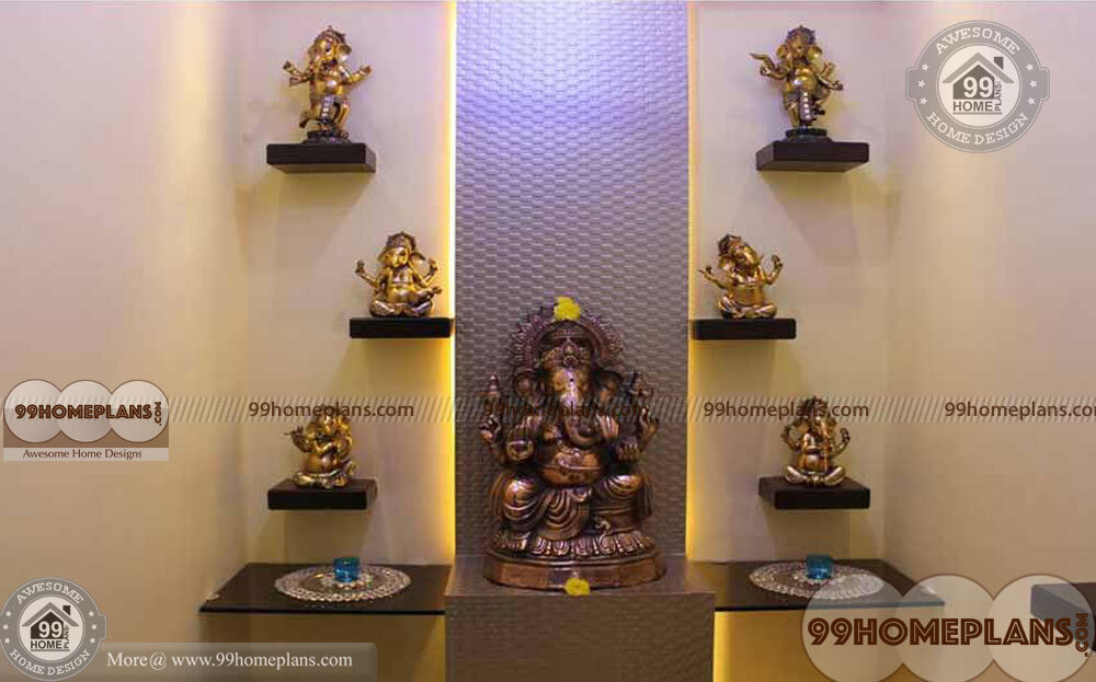 Wooden Pooja Mandir Designs With New Awesome Collections