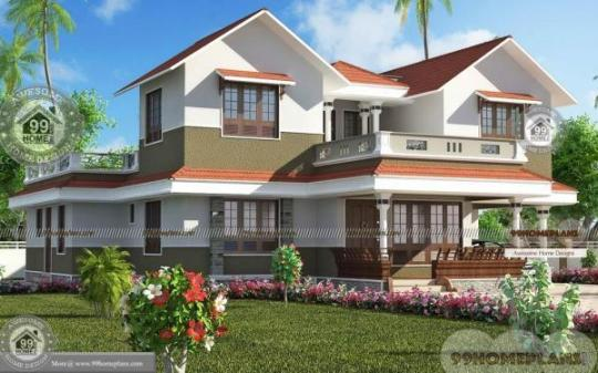 Virtual House Plans with Latest Small Modern 2 Story Home Design Ideas