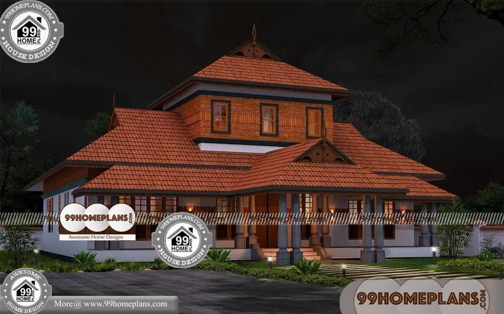 Kerala Staircase Interior House