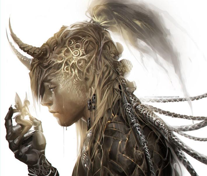 Amazing Digital Art Characters 9