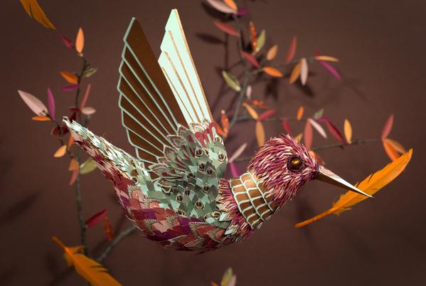 best papercraft art design 12