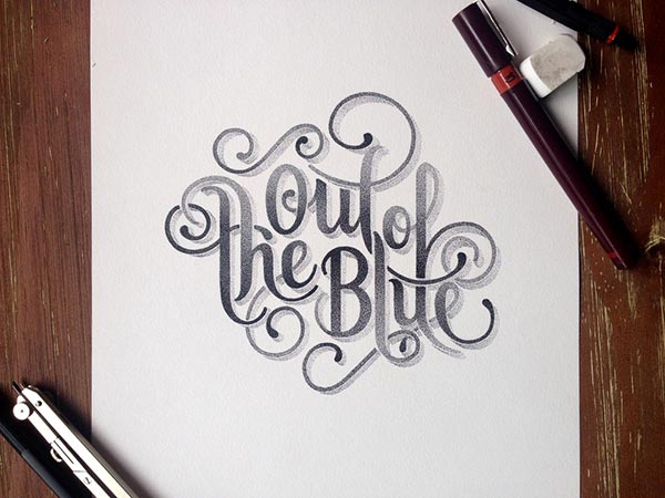 Amazing Stippling Art Typography designs