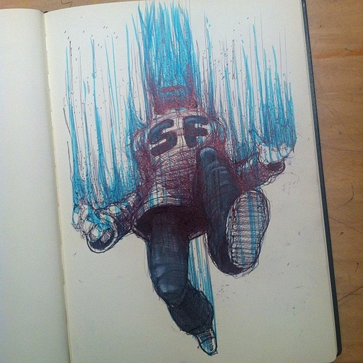Amazing pencil art sketches 14