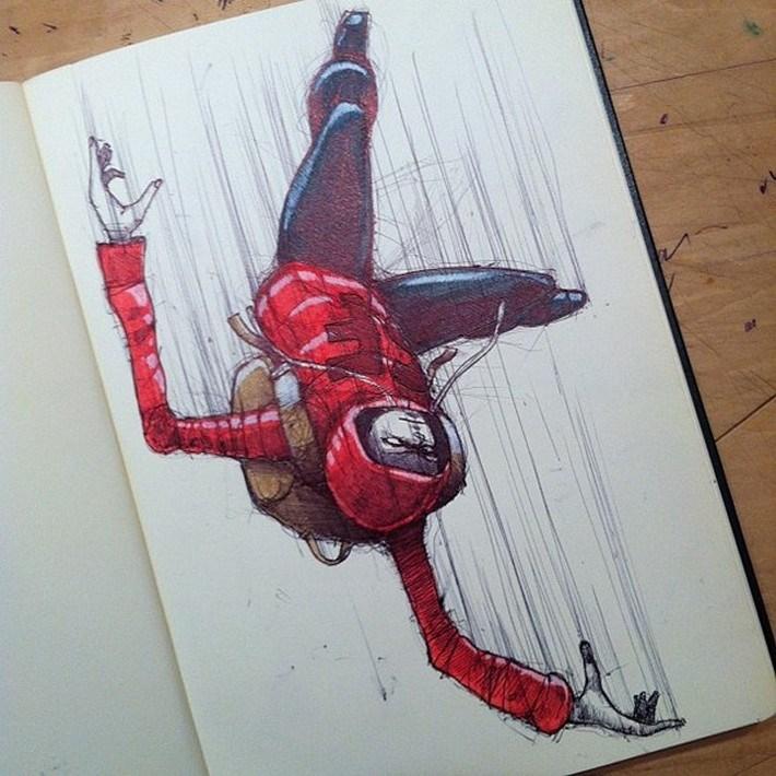 Amazing pencil art sketches 2