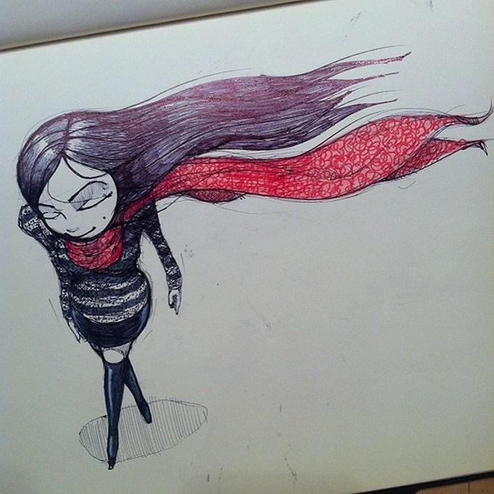 Amazing pencil art sketches 5