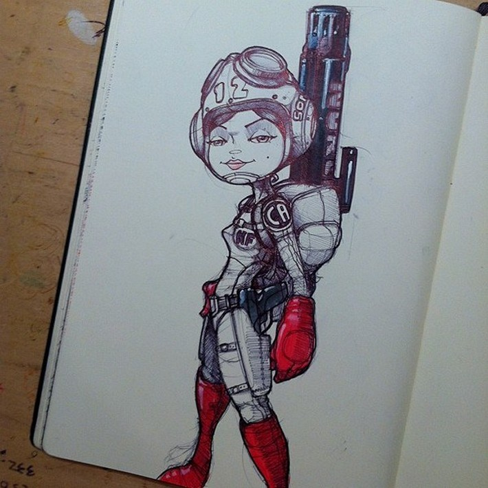 Amazing pencil art sketches 9