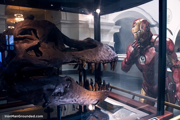 Iron man in The museum 2
