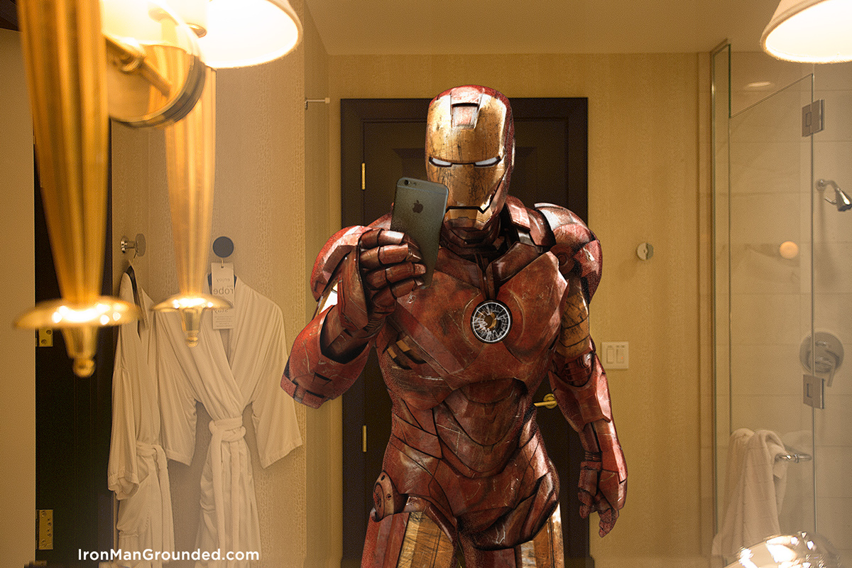Iron Man Grounded Humanizes