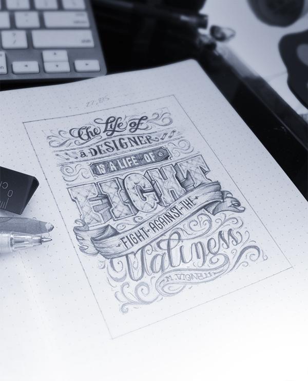 elegant typography design inspirations 6