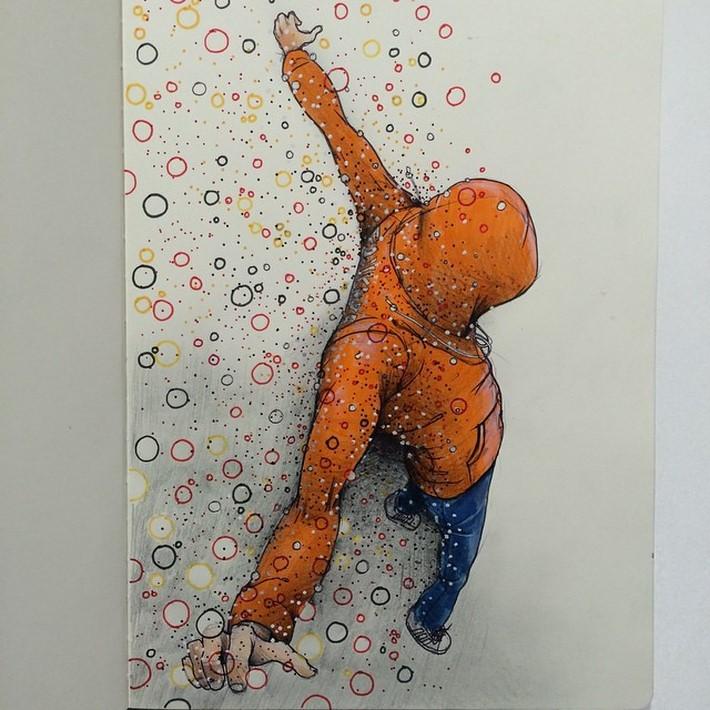 fantastic sketches drawings pencil 14