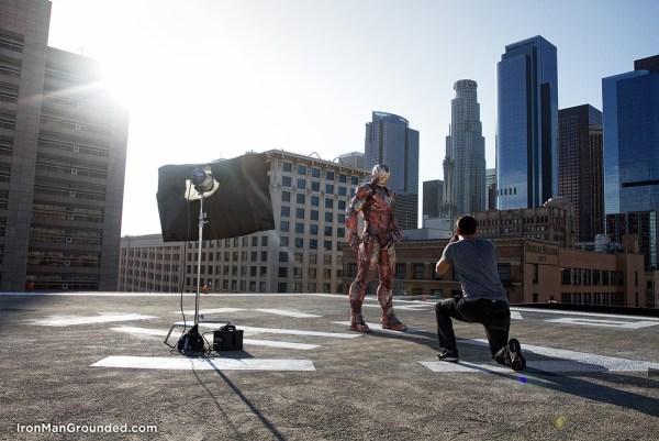 photo session iron man