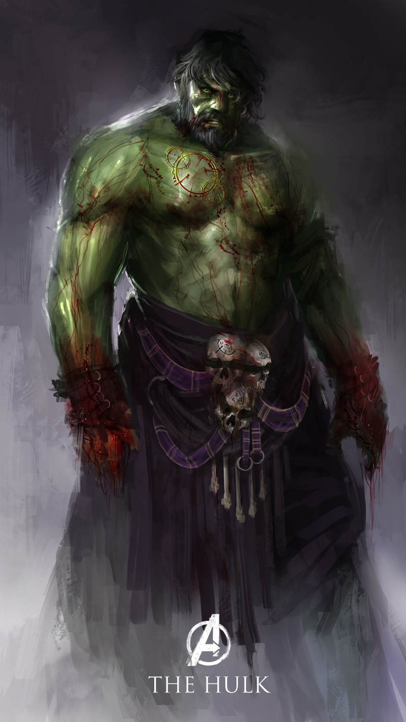 redesign the hulk character
