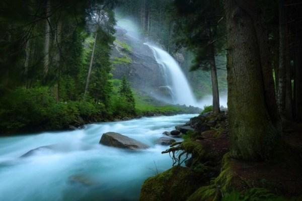 Beauty lanndscape photography of river
