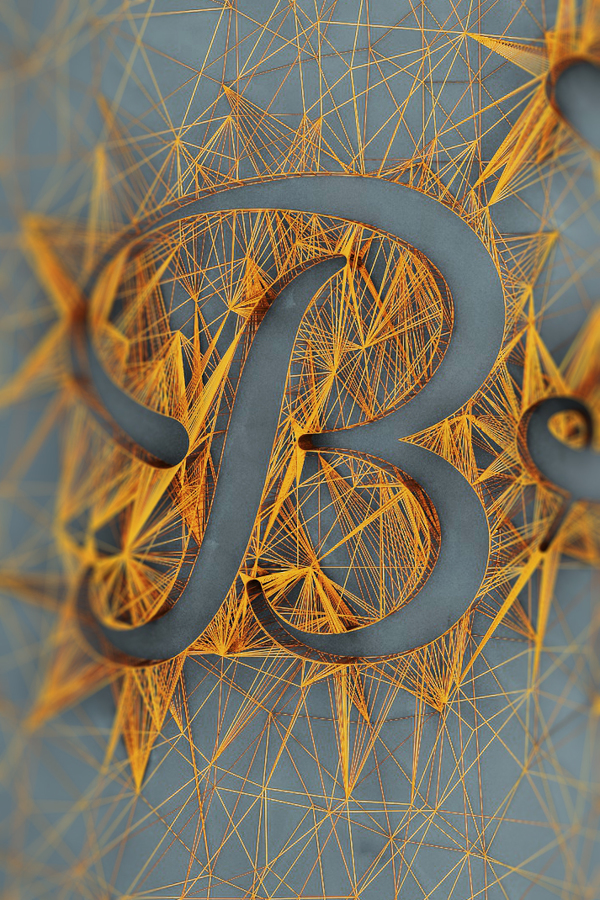 3D typography desain by Dan Hoopert
