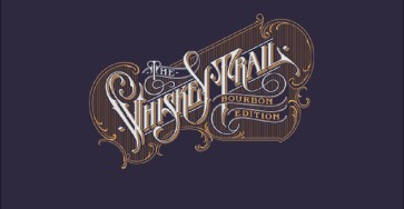 Excellent Lettering Design For The Whiskey Trail