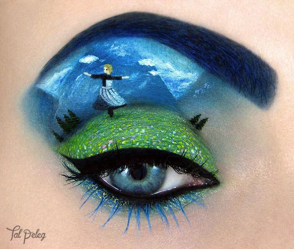 wonderfull Eye Makeup by Tal Paleg