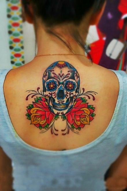 Sugar Skull Tattoo ideas for women