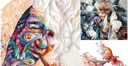 Quilling Paper Art Work by Yulia Brodskaya