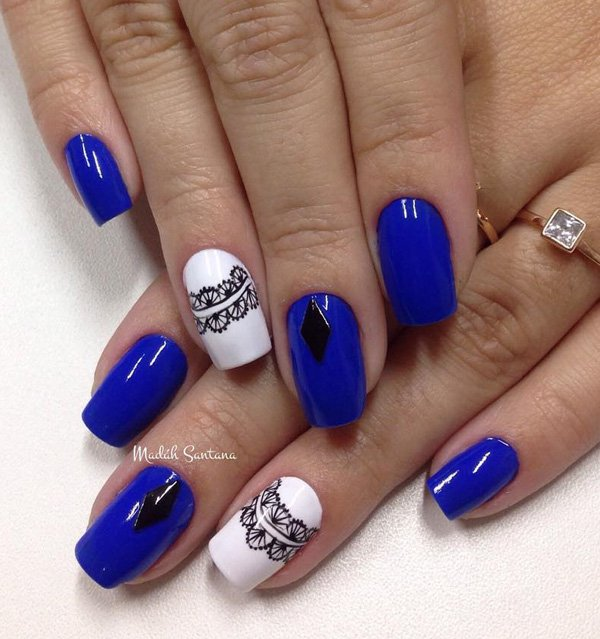 blue-and-white-with-lace-nail-art