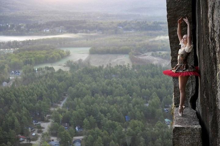 Climbing wedding Photography