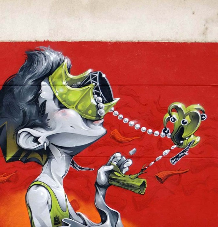 Creative Street Art and Graffiti Designs isaac-mahow-zupi