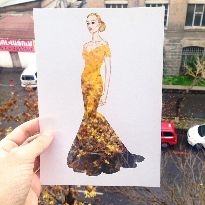 Creative Fashion Designs With Everyday Objects By Armenian Artist Edgar 99inspiration