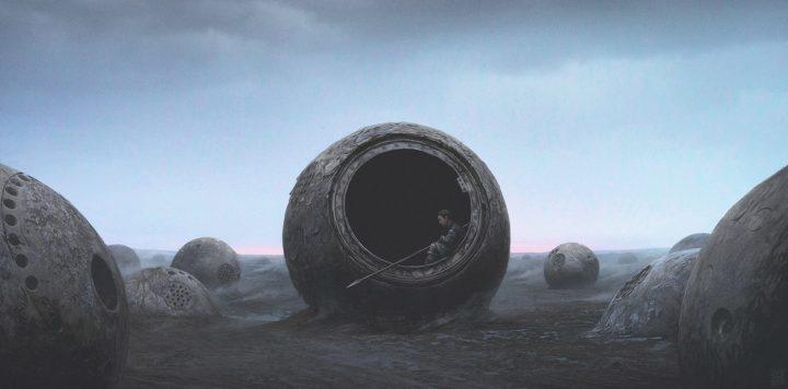 Dramatic Digital Landscapes by yuri shwedoff
