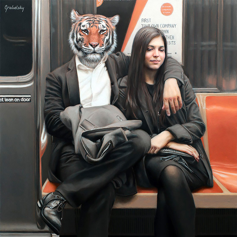 Surreal Painting Artworks by Matthew Grabelsky 01