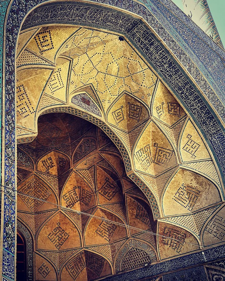 The Hypnotizing Beauty Of Iranian Mosque Ceilings 13