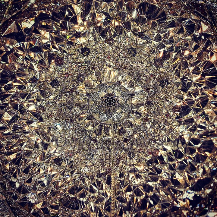 The Hypnotizing Beauty Of Iranian Mosque Ceilings 8