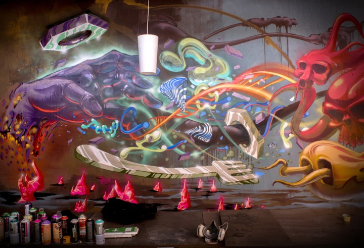 Cool Street Art and Graffiti Designs by Fork4 99