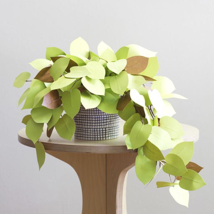 Make Beautiful Plants from paper 99