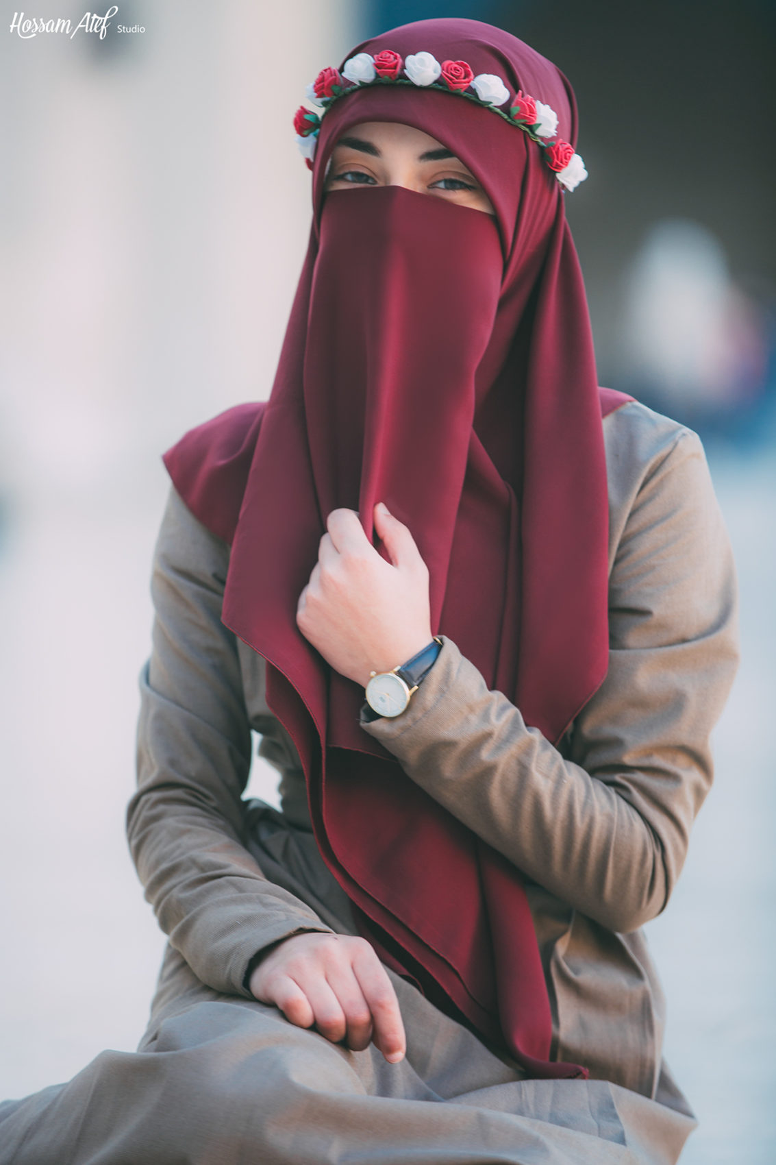 Beautiful Photoshoot Muslim Girl in Niqab | 99inspiration