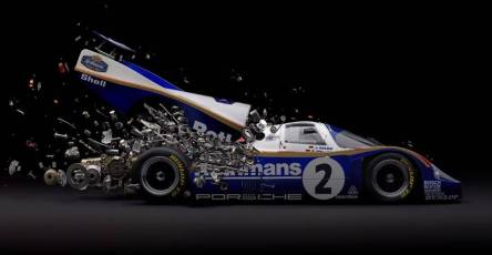 Disintegrating Mind blowing Cars Photography