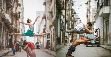 Omar Robles Captures Ballet Dancers Practicing On The Streets 66