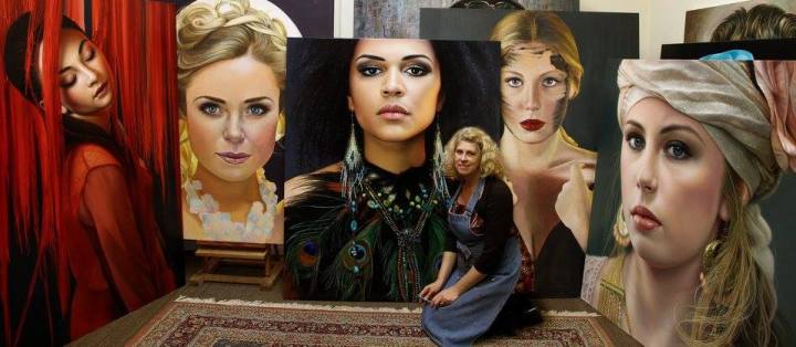 Mind Blowing Hyper Realistic Oil Paintings by Christiane Vleugels 77