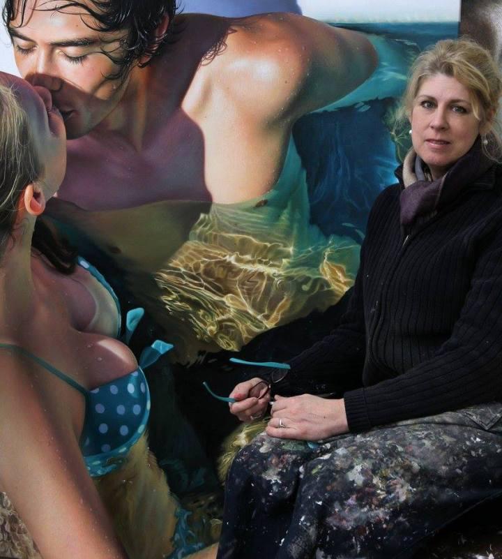 Mind Blowing Oil Paintings by Christiane Vleugels