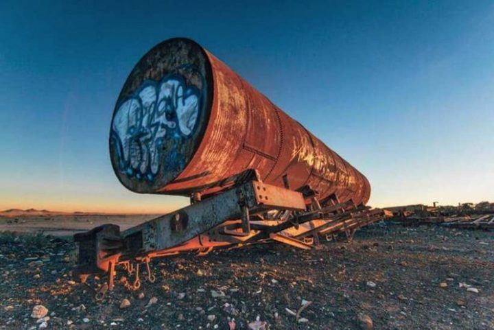 Stunning Cemetery of Abandoned Trains in Bolivia by Chris Staring 8