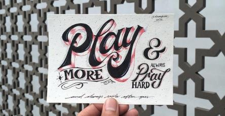 35 + Beautiful Hand Lettering Styles by Dimaz Fakhruddin