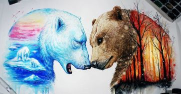 Astounding Animals Painting Remind Us To Preserve Nature