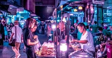 Bangkok Glow Neon Street Photography by Xavier Portela