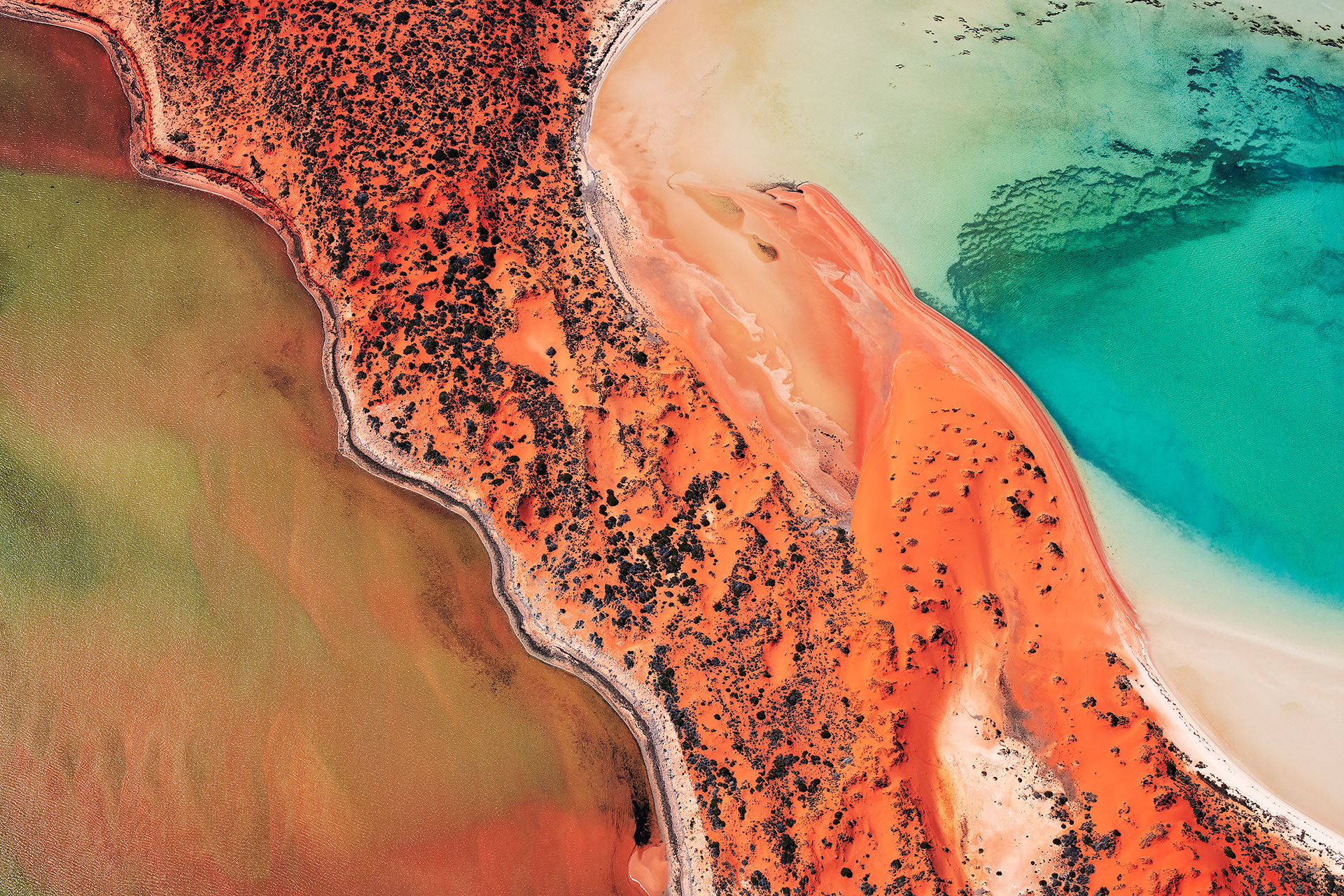 Shark Bay's Beautiful Landscapes Viewed From the Sky 2