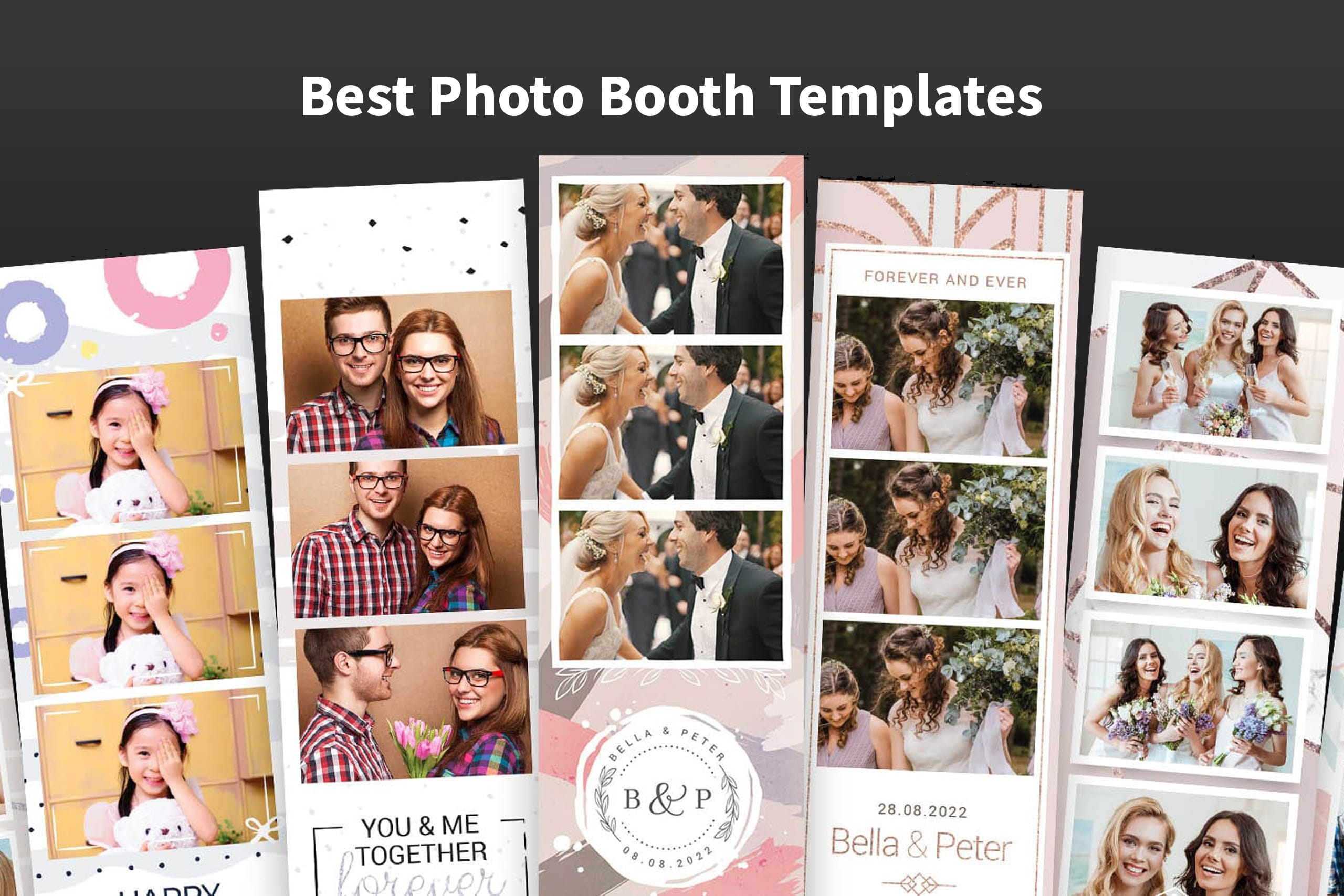 11 Impressive Templates For Wedding Photo Booths